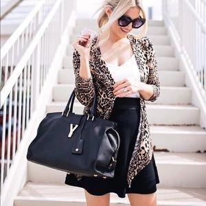 Sweaters - Leopard Cardigan